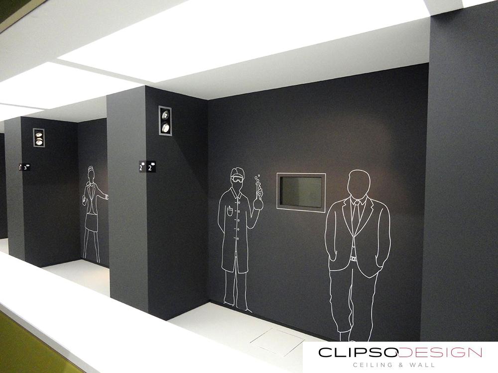 потолки clipso в Европарламенте